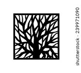tree logo template.  beautiful... | Shutterstock .eps vector #239971090