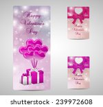 valentines day card with... | Shutterstock .eps vector #239972608