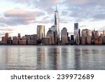 manhattan   nyc dusk | Shutterstock . vector #239972689
