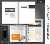 classic vector brochure...   Shutterstock .eps vector #239974174