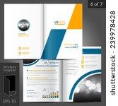 geometric vector brochure... | Shutterstock .eps vector #239978428