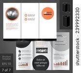 classic vector brochure...   Shutterstock .eps vector #239992330