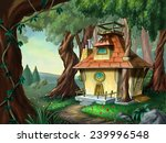 Fantasy House In A Wood....