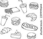 Vector Collection Of Fast Food...