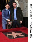Small photo of LOS ANGELES - MAR 7: James Franco, Seth Rogen at a ceremony as James Franco is honored with a star on the Hollywood Walk of Fame on March 7, 2013 in Los Angeles, California