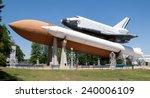 space shuttle in Huntsville