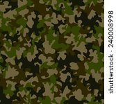 seamless camouflage pattern | Shutterstock .eps vector #240008998