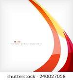 business wave corporate...   Shutterstock .eps vector #240027058