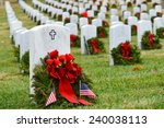 Gravestones With Christmas...