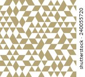 geometric vector pattern with... | Shutterstock .eps vector #240055720