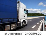 truck on the road | Shutterstock . vector #240059620