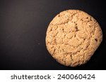 oat cookies on the old shabby... | Shutterstock . vector #240060424