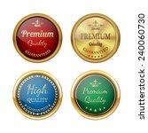 vintage labels set.vector | Shutterstock .eps vector #240060730