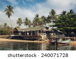 Restaurant And Boat Pier At Th...