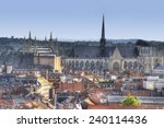the town of leuven with saint peter