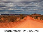 outback travel  red center ... | Shutterstock . vector #240122893