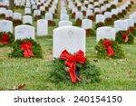 Gravestones With Christmas...