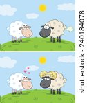 White Sheep In Love With Ram...