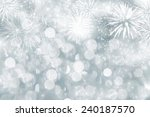 fireworks at new year and copy... | Shutterstock . vector #240187570