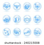 the collection of the signs of... | Shutterstock .eps vector #240215008