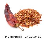Hot Red Chilli Crushed Pepper...