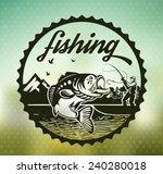 fishing   Shutterstock .eps vector #240280018