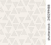 vector seamless pattern. modern ... | Shutterstock .eps vector #240299488