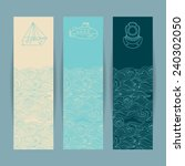 set of the colorful banners... | Shutterstock .eps vector #240302050