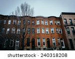 row houses in charles north ... | Shutterstock . vector #240318208