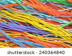 electrical cables and wires  | Shutterstock . vector #240364840