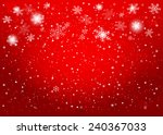 red christmas background ... | Shutterstock . vector #240367033