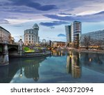 donaukanal  danube canal  of... | Shutterstock . vector #240372094