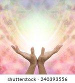 angelic healing energy   ... | Shutterstock . vector #240393556