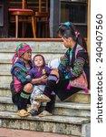 sapa  vietnam   sep 20  2014 ... | Shutterstock . vector #240407560