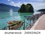 Annecy Lake In France  Haute...