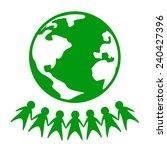world peace icon | Shutterstock .eps vector #240427396
