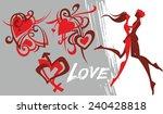 couple | Shutterstock .eps vector #240428818