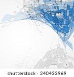 abstract vector background.... | Shutterstock .eps vector #240433969