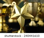star trophy standing out from... | Shutterstock . vector #240441610