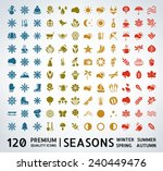 mega collection of premium... | Shutterstock .eps vector #240449476