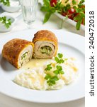Постер, плакат: chicken and chicken Kiev