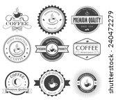 set of retro bakery labels ...   Shutterstock .eps vector #240472279