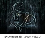 human geometry series.... | Shutterstock . vector #240474610