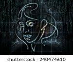 human geometry series....   Shutterstock . vector #240474610