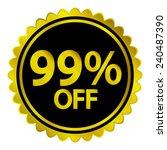 sale sticker on white...   Shutterstock .eps vector #240487390