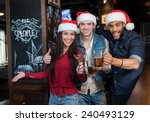 campaign of friends are having... | Shutterstock . vector #240493129