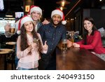 campaign of friends are having... | Shutterstock . vector #240493150