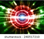 green red blue abstract... | Shutterstock .eps vector #240517210