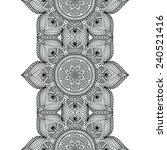 seamless indian pattern   Shutterstock .eps vector #240521416