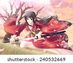 Samurai Girl  1